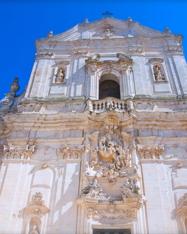 Basilica of St. Martino. Martina Franca. Puglia. Italy.